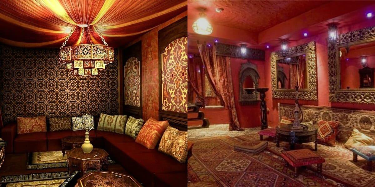 арабский стиль в интерьере: светильник