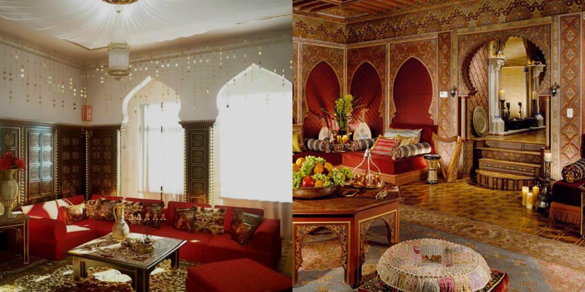 арабский стиль в интерьере: окна