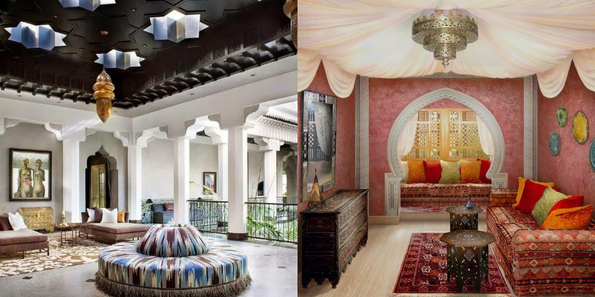 арабский стиль в интерьере: колонны-арабский стиль в интерьере фото