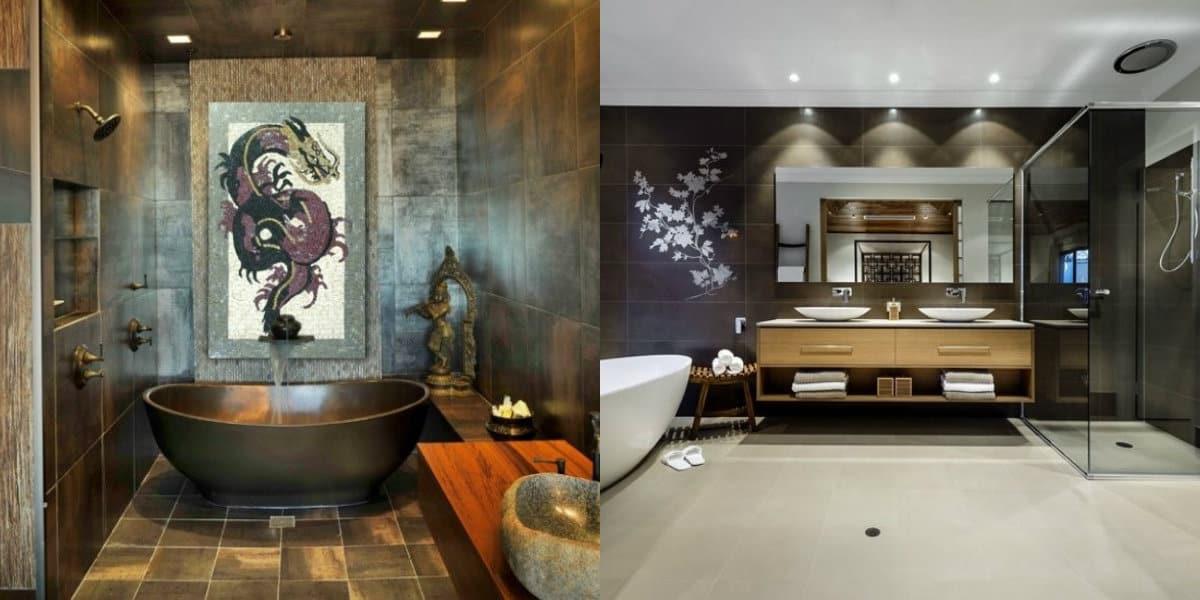 Ванная в восточном стиле: азиатский вариант
