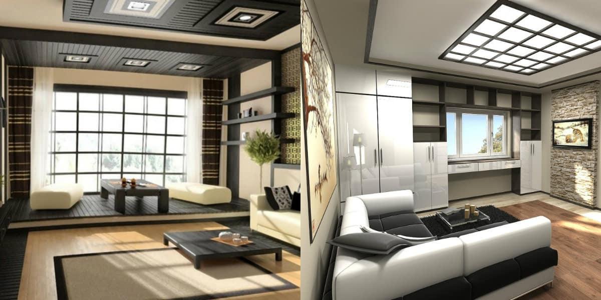 Гостиная в восточном стиле: японская гостиная