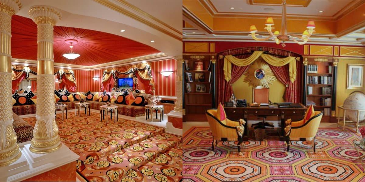 Гостиная в восточном стиле: диваны