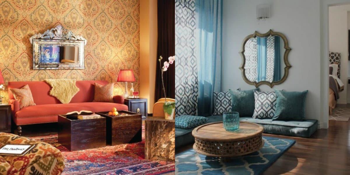 Гостиная в восточном стиле: цвет