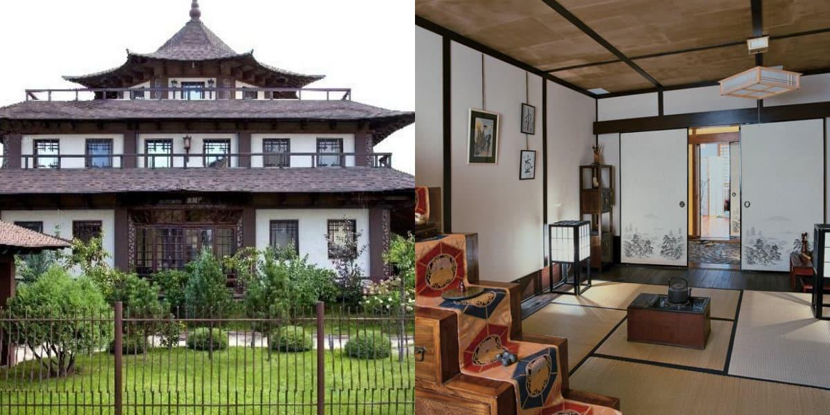 Дом в японском стиле: пол