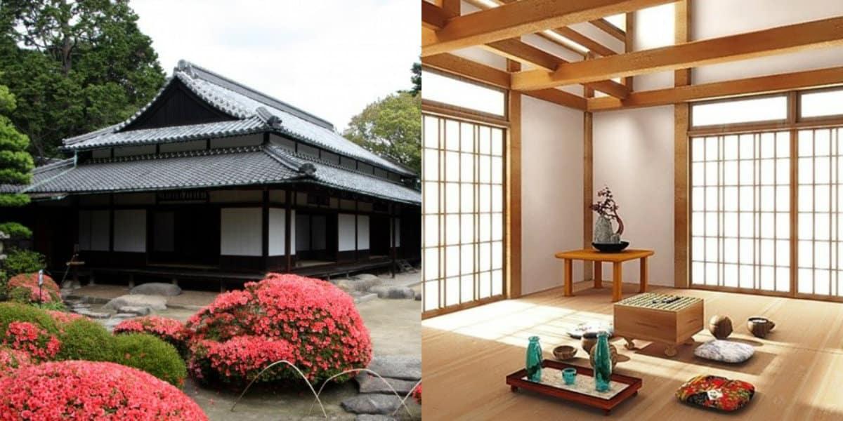Дом в японском стиле: перегородки