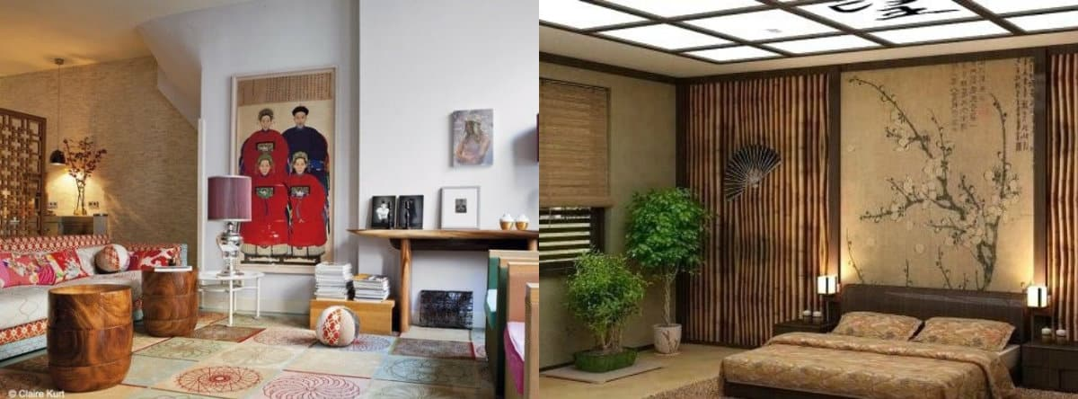 Квартира в восточном стиле:декор