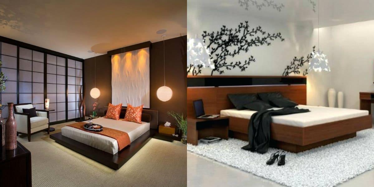 Квартира в восточном стиле: спальня