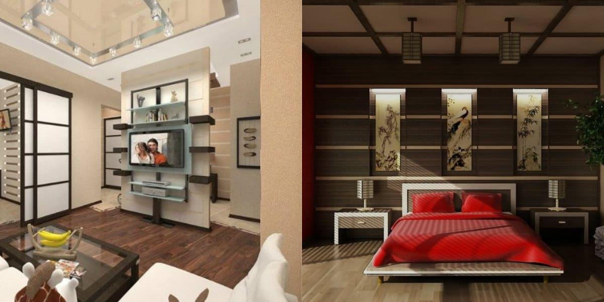Квартира в восточном стиле: японский дизайн