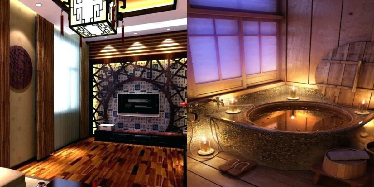 Квартира в восточном стиле: ванная