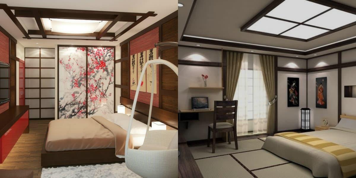 комната в восточном стиле: современный микс