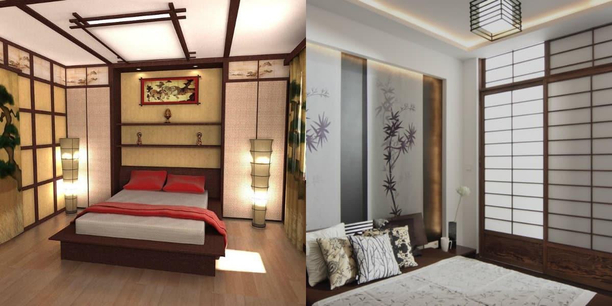 комната в восточном стиле: декор потолка