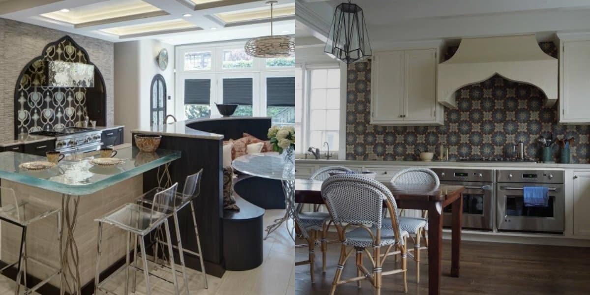 Кухня в восточном стиле: арки