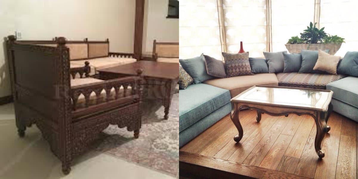 Мебель в восточном стиле: мягкая мебель