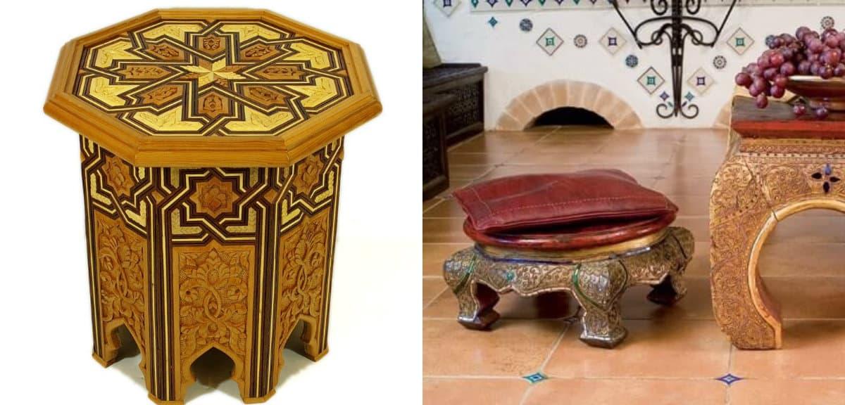 Мебель в восточном стиле: арабская мебель