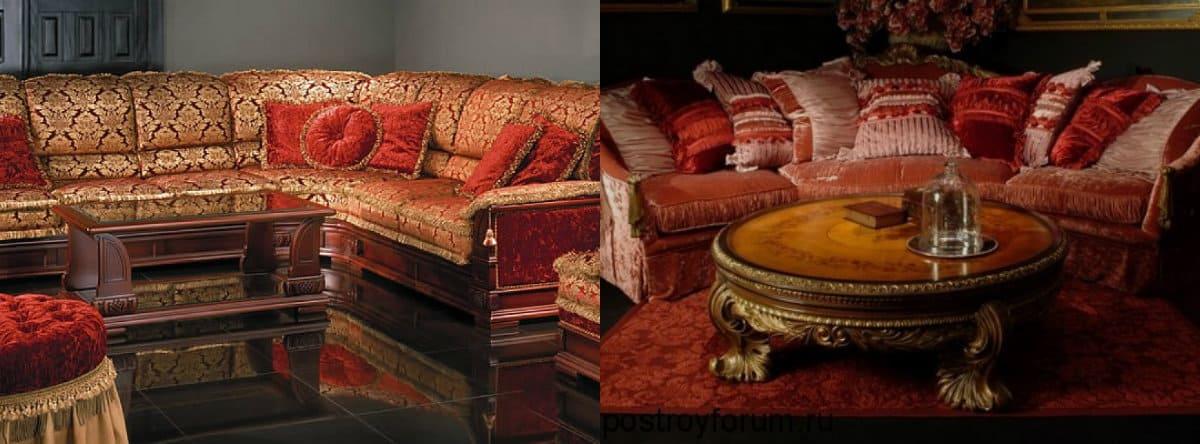 Мебель в восточном стиле: столик
