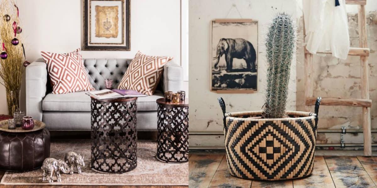 Мебель в восточном стиле: табуреты