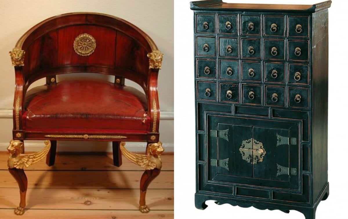 Мебель в восточном стиле: кресло