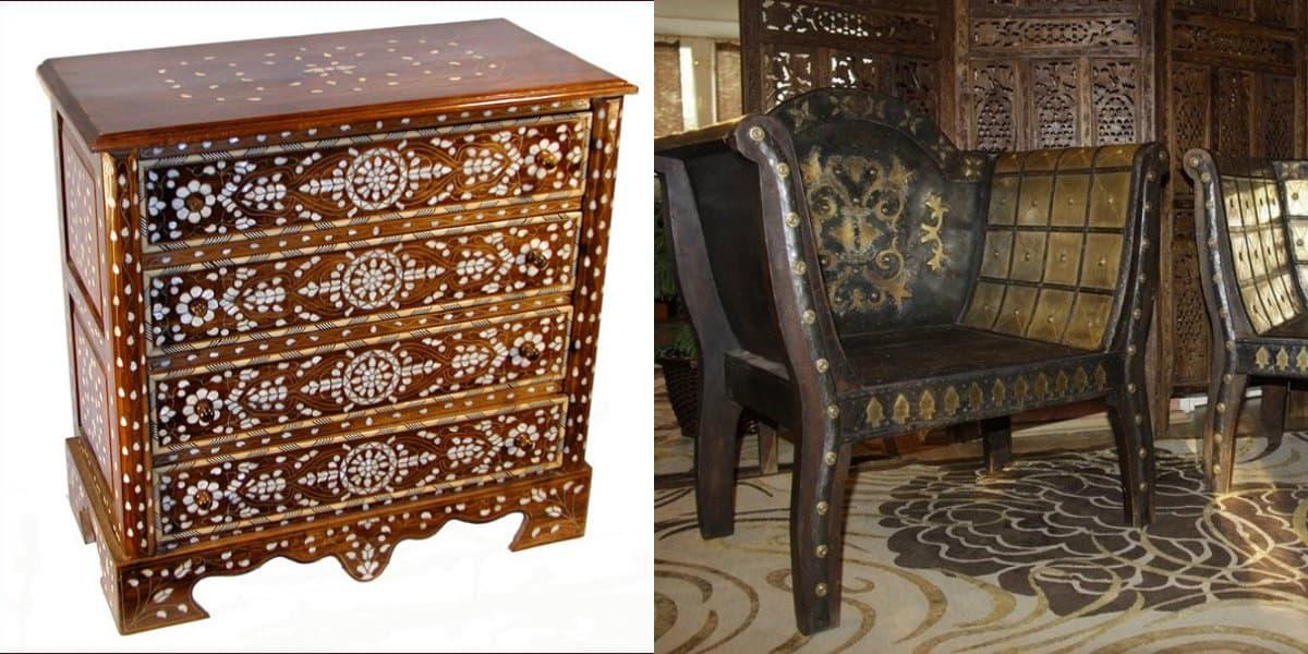 Мебель в восточном стиле: антиквариат