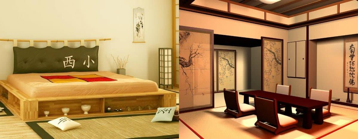 Мебель в японском стиле: столовая группа