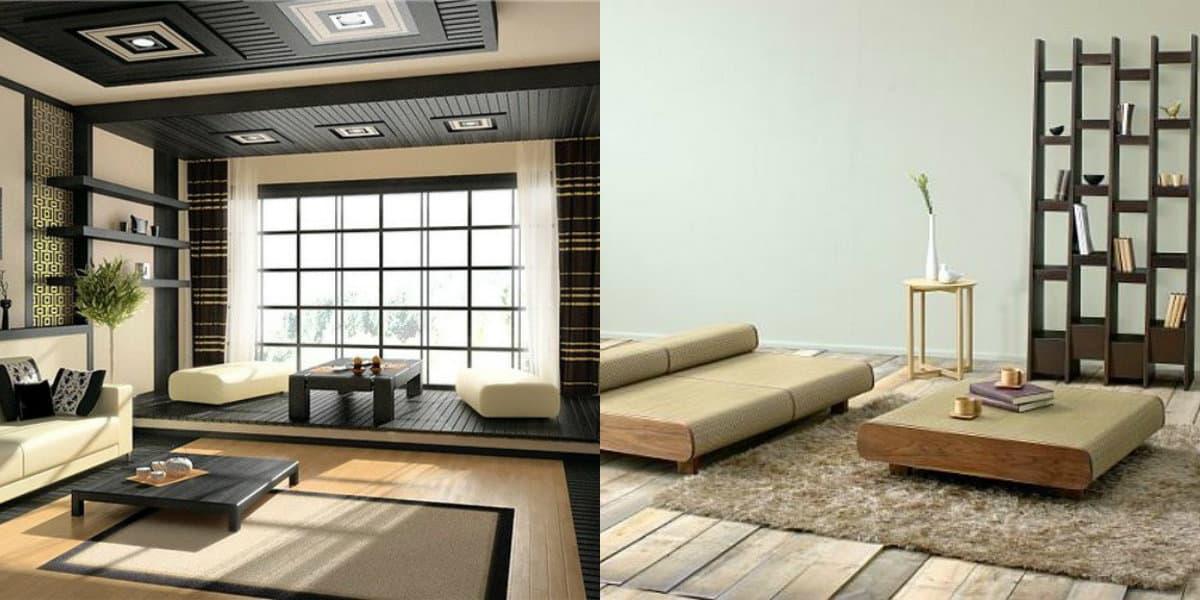 Мебель в японском стиле: стеллажи