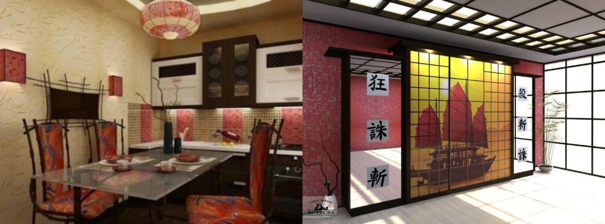 Мебель в японском стиле: шкаф