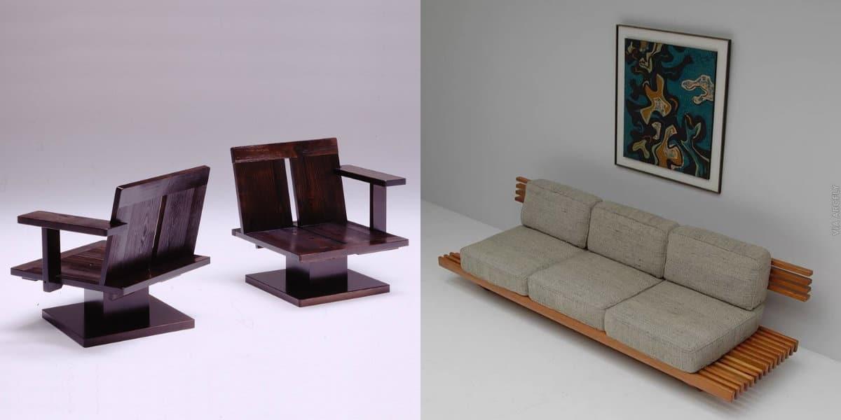 Мебель в японском стиле: сиденья