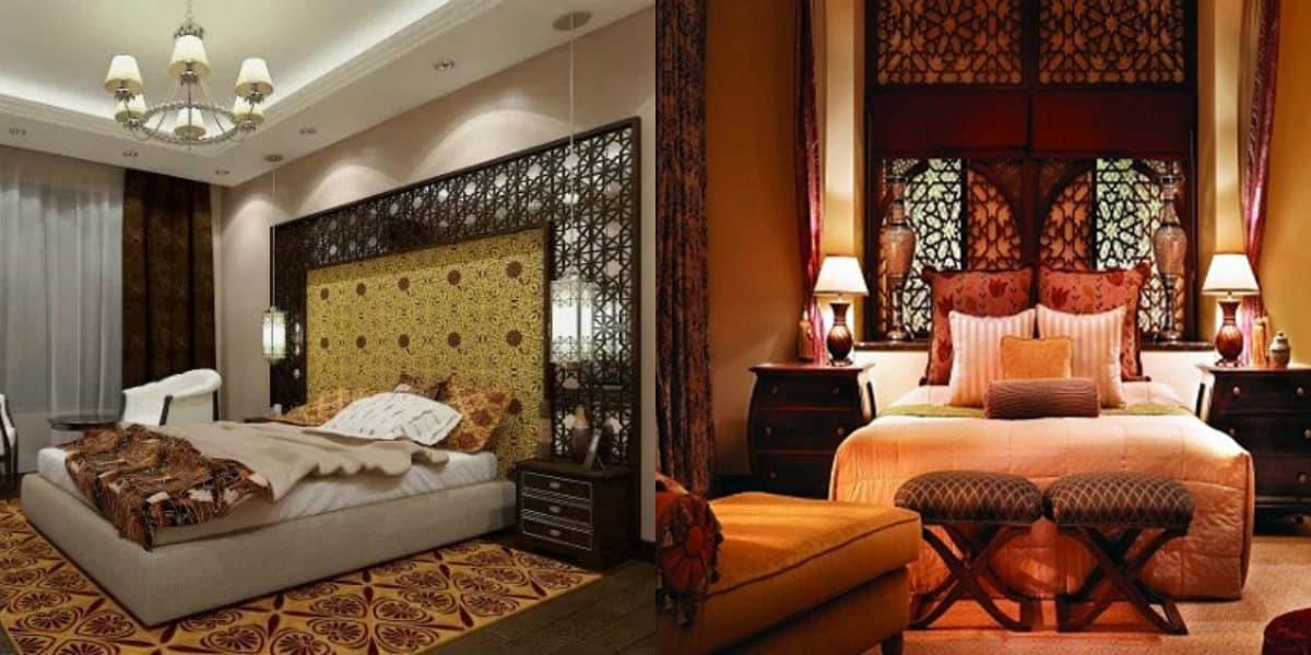 Спальня в арабском стиле: пол