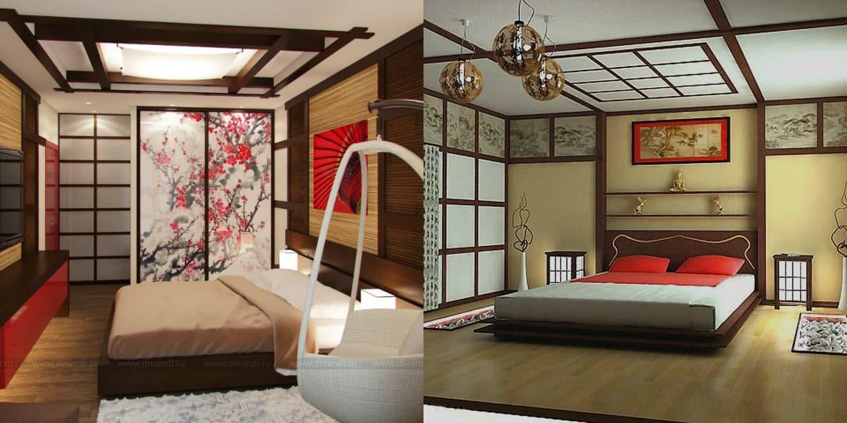 Спальня в японском стиле: пол