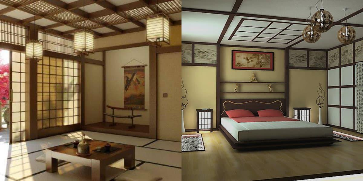 Японский стиль в интерьере: мебель