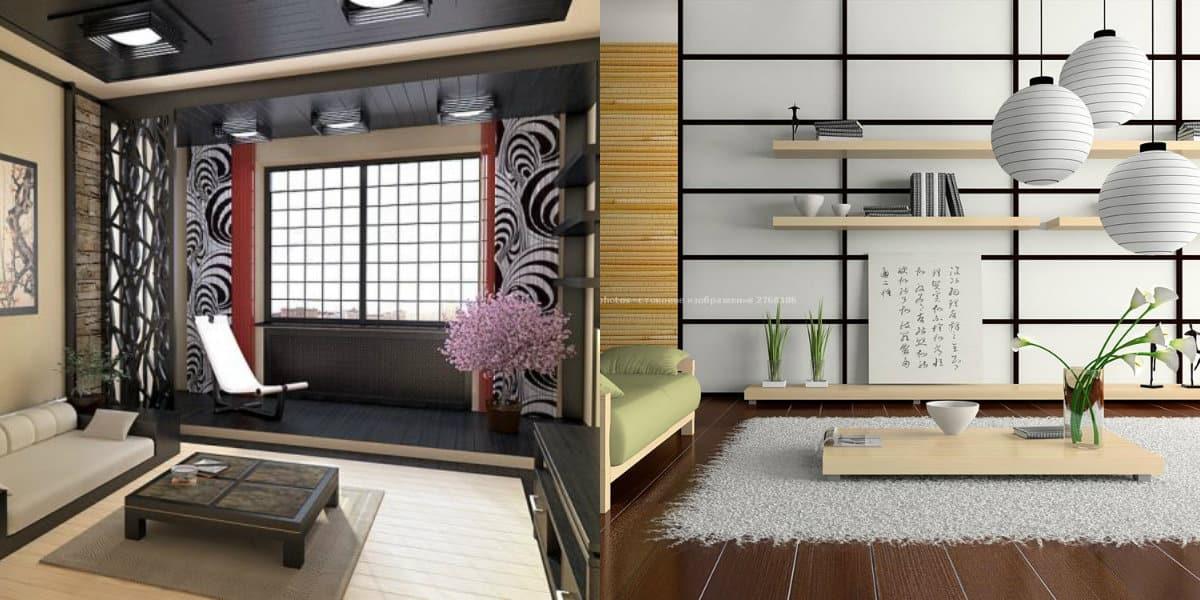 Японский стиль в интерьере: светильники