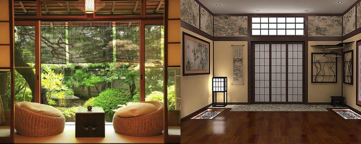 Японский стиль в интерьере: планировка