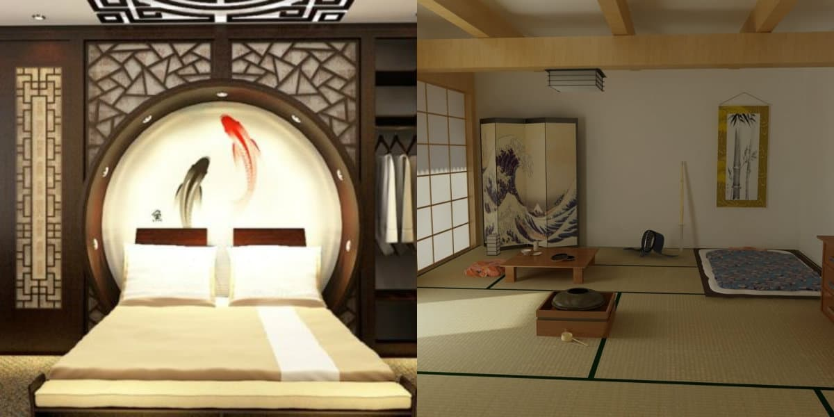 Японский стиль в интерьере: альков