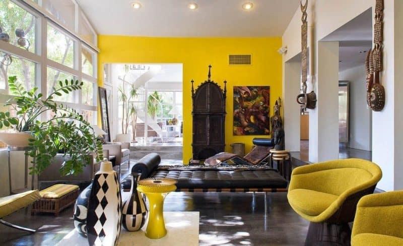 Африканский стиль в интерьере: цвет