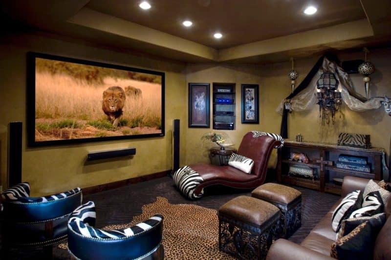 Африканский стиль в интерьере: мебель