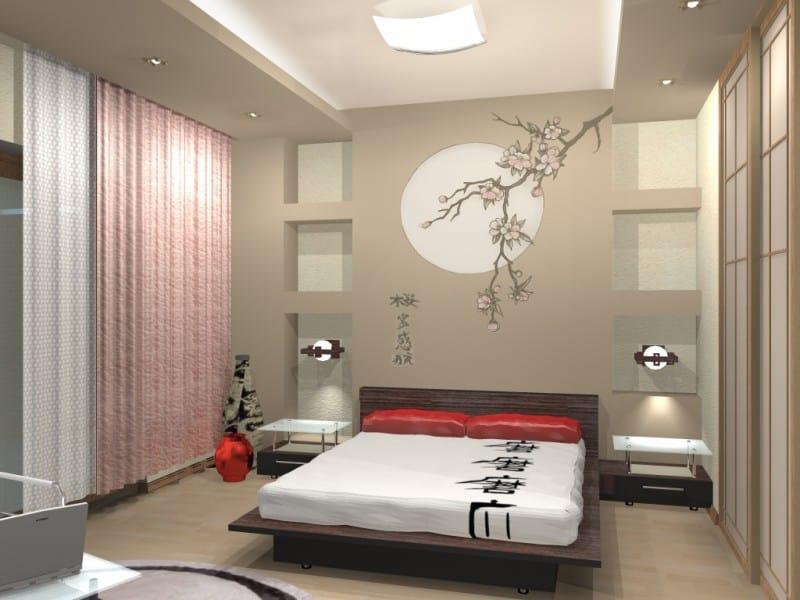 Восточный стиль в интерьере: спальня