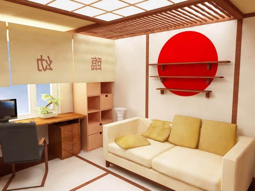Восточный стиль в интерьере: диван