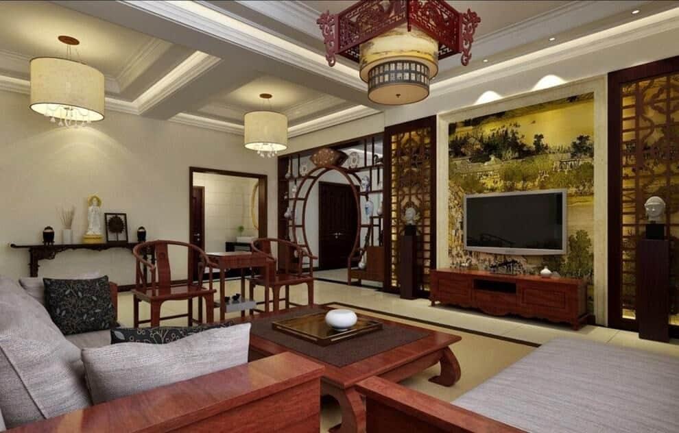 Восточный стиль в интерьере: китайское оформление