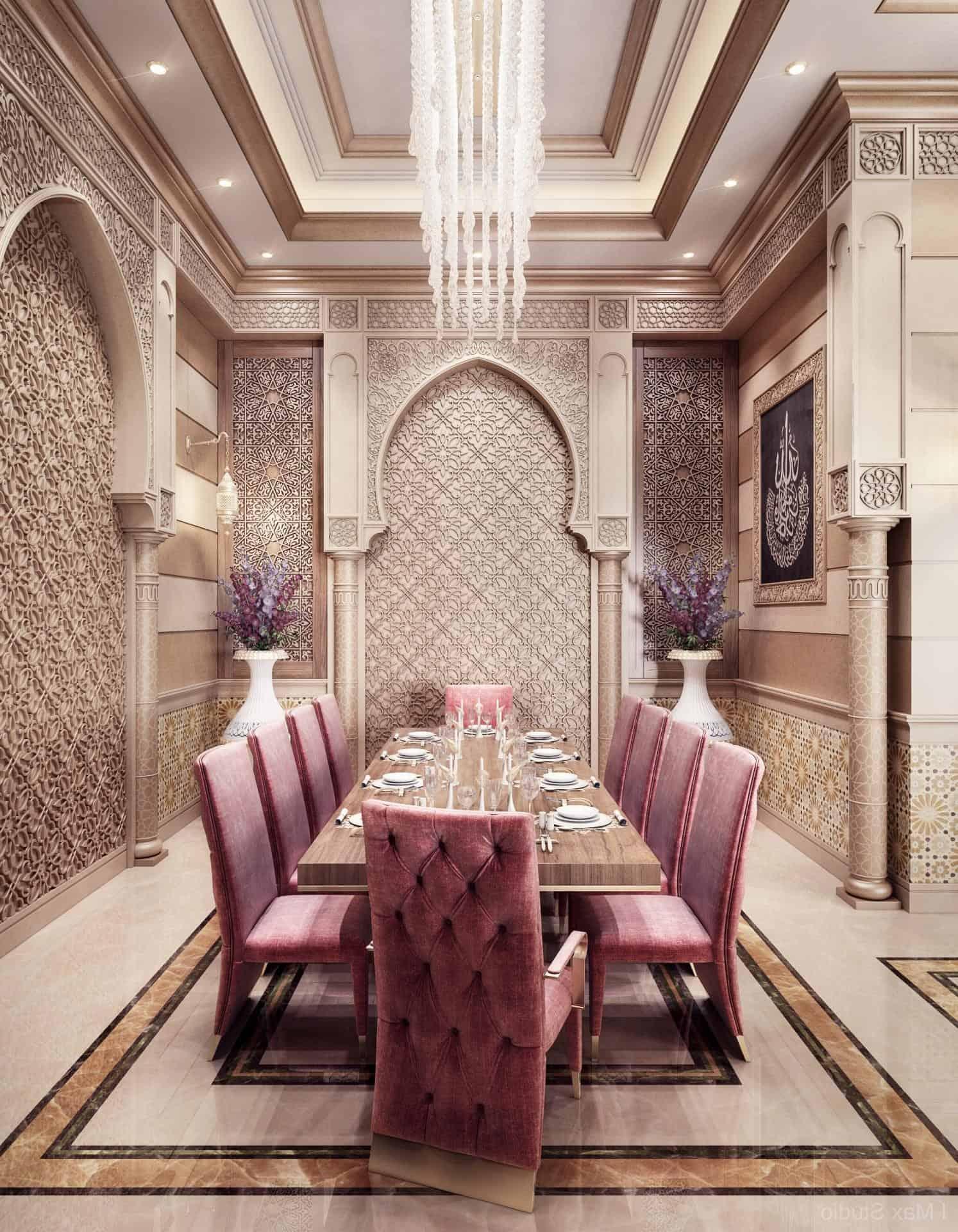 Дизайн в восточном стиле: арабский интерьер