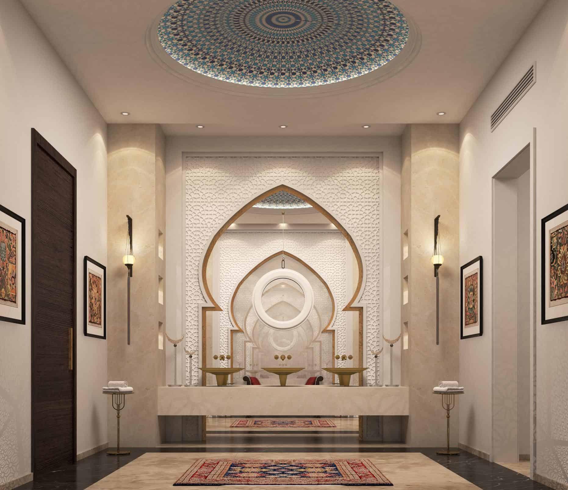 Дизайн в восточном стиле: арабская ниша