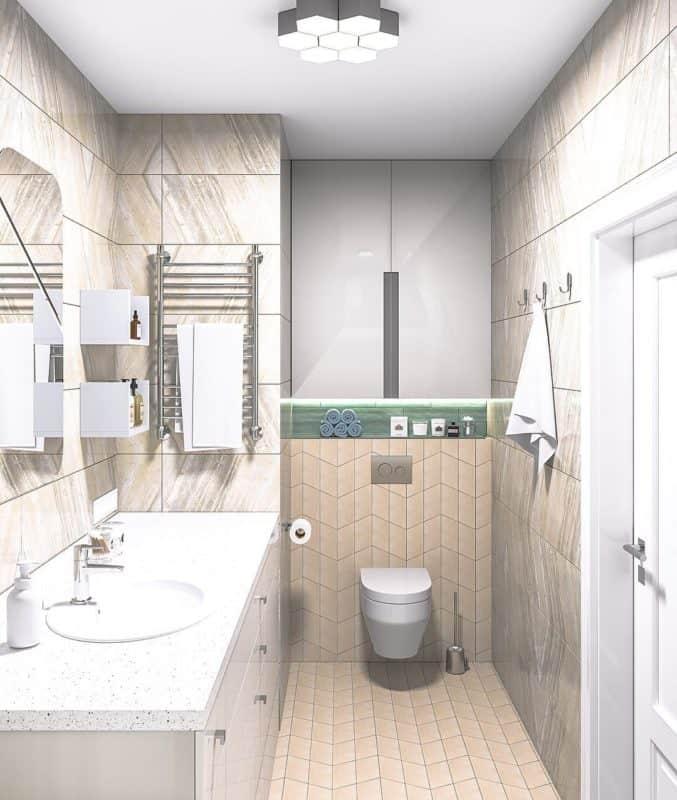 Дизайн-маленькой-ванной-комнаты