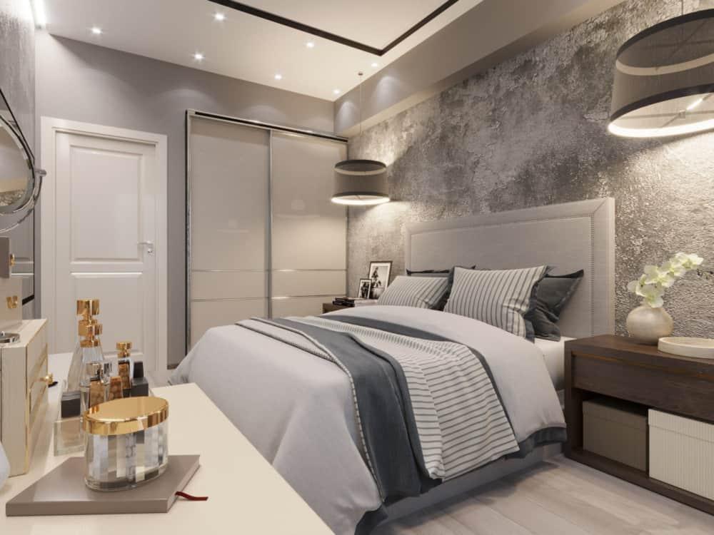 дизайн спальни 2019 года новинки фото идеи