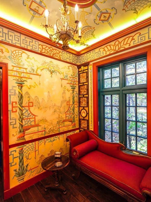 Китайский стиль в интерьере: цвет
