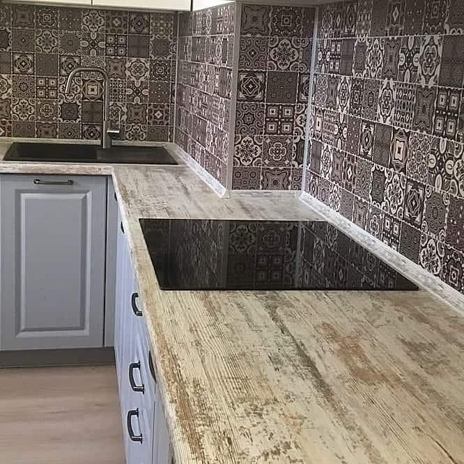 Кухня-в-скандинавском-стиле-Дизайн маленькой кухни 2019