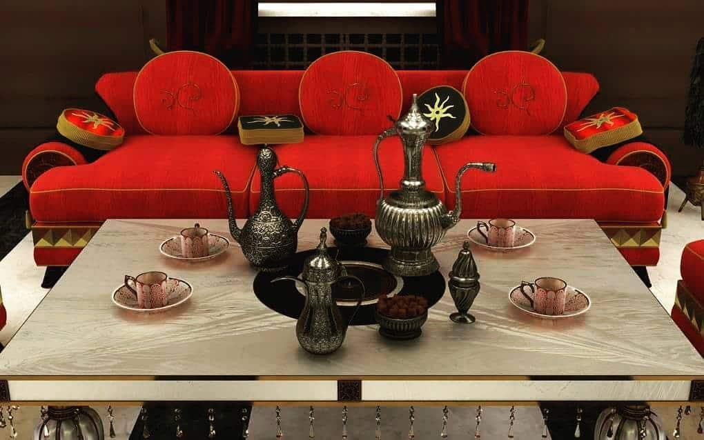 гостиная-в-арабском-стиле