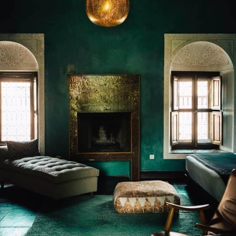 гостиная-в-африканском-стиле