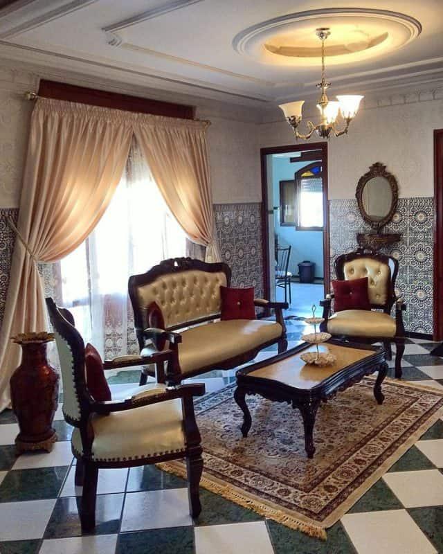 гостиная-в-марокканском-стиле