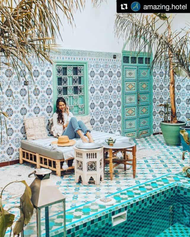 марокканский-стиль-в-интерьере-ванной