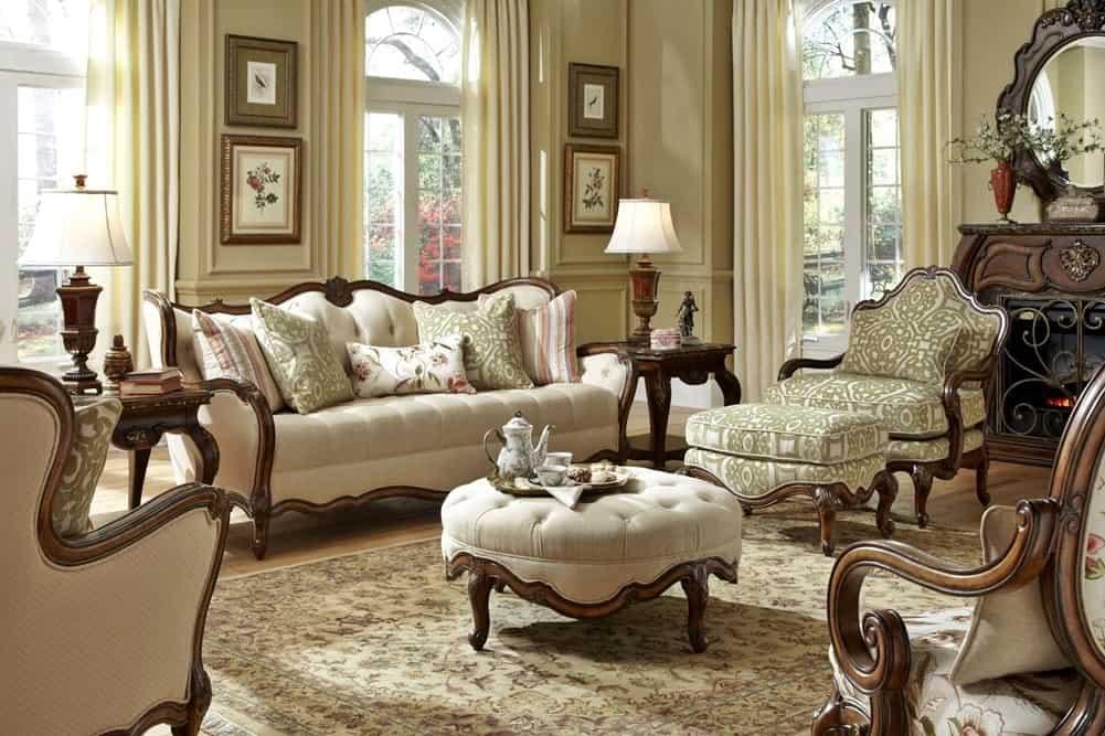 Викторианский стиль в интерьере: цветовая палитра