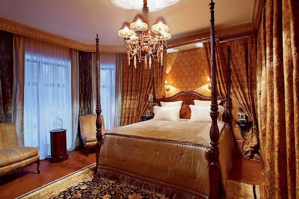Викторианский стиль в интерьере: спальня