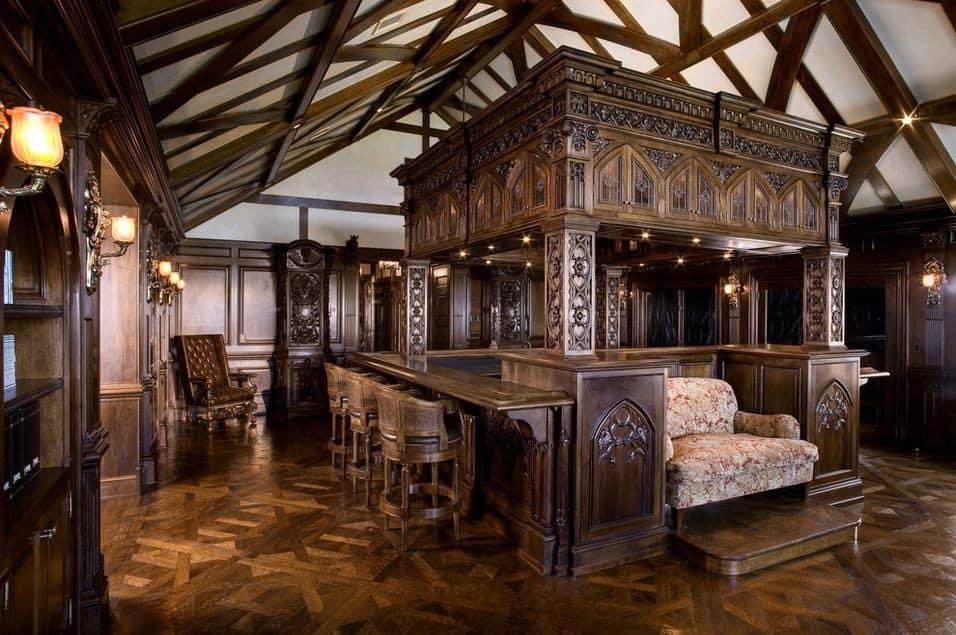 Готический стиль в интерьере: мебель